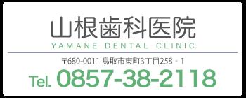 山根歯科医院 〒680-0011 鳥取市東町3丁目258‐1
